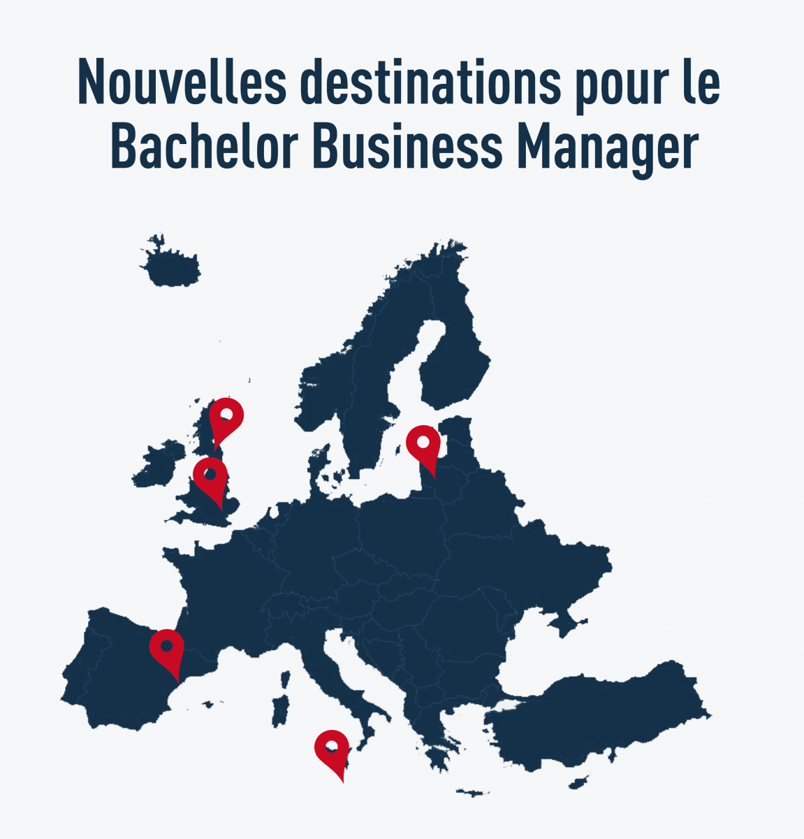 Bachelor Business Manager nouvelles destinations en Europe